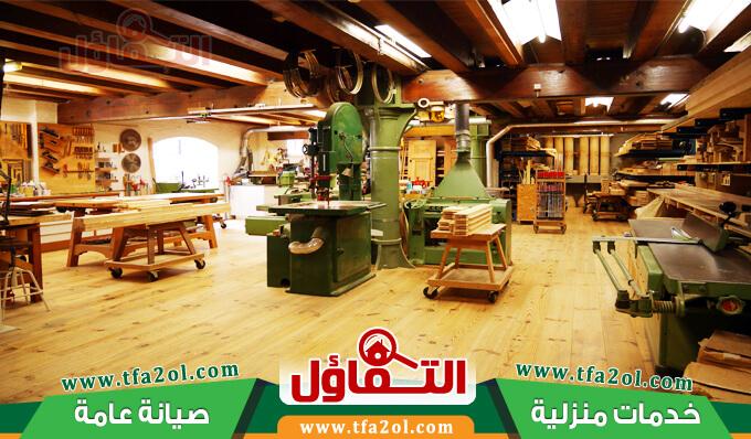 ورشة تفصيل خشب جدة تنفذ جميع تصاميم الاثاث ومشتملاته بدقة وتقنية عالية وتوفر افضل نجارين بجدة