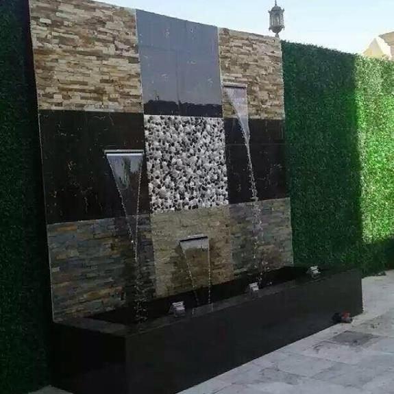 تصميم شلالات بالمدينة المنورة بأشكال واحجام متنوعة وعمل نوافير تتسم بالفخامة والجمال